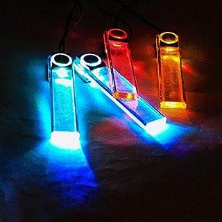4 in 1 12V Car Auto Interior LED Atmosphere Lights Decoration Lamp 7 Color K774W