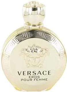 VERSACE Eros Eau De Parfum Spray for Women, 3.4 Ounce