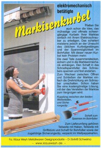 Klaus Weyh Elektromechanische Markisenkurbel 140cm
