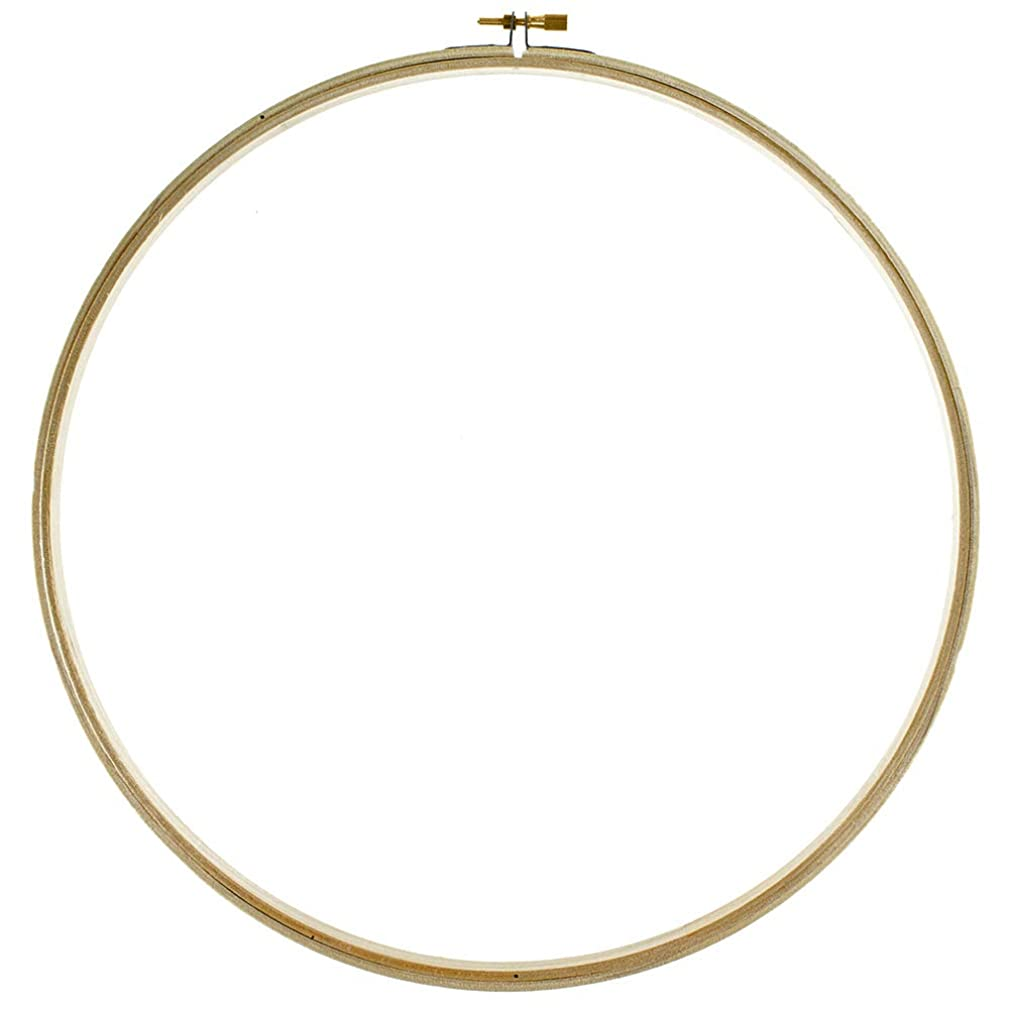 Wooden Embroidery Hoops – Needlework, Handcraft, Cross Stitch – Different Sizes of 6, 8, 10, and 12 Inches