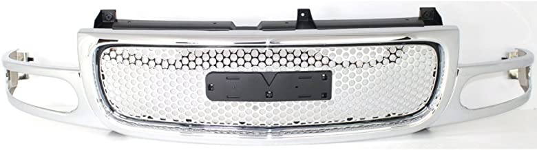 Grille for GMC GMC Yukon Denali 01-06 Chrome