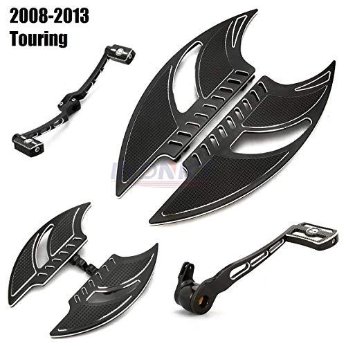 For Harley Chromed Deep edge cut Brake shifter heel toe levers road king flhr Electra Glide FLHT FLTR Street Glide FLHX 1997-2007
