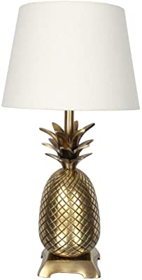 House & Homestyle Table Lamp, Brass, Bronze