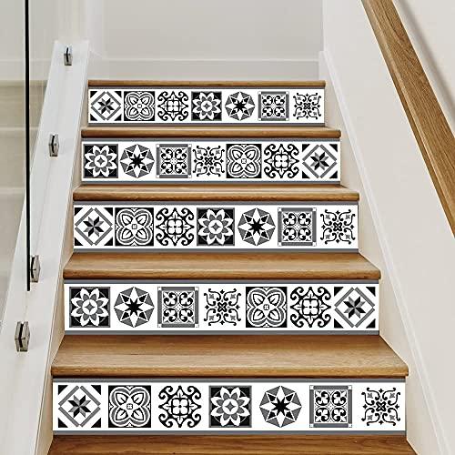 Sticker Contremarche - RISERTILES- Lot de 4 Stickers (1m x 15 cm)