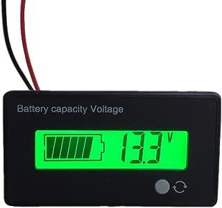 36V Battery Fuel Gauge Indicator Meter For Lead Acid Battery(SLA,AGM,GEL Battery),Fuel Gauge For Electric Bike,Fork Lift,ATV,Quads,36V Golf Cart Digital Volt Meter Battery Gauge Club Car EZGO YAMAHA