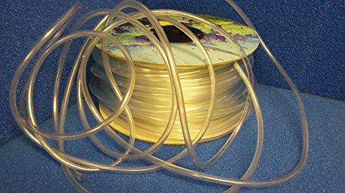10 Meter Silikon Luft-Schlauch 4/6 mm für Aquarien & Teiche