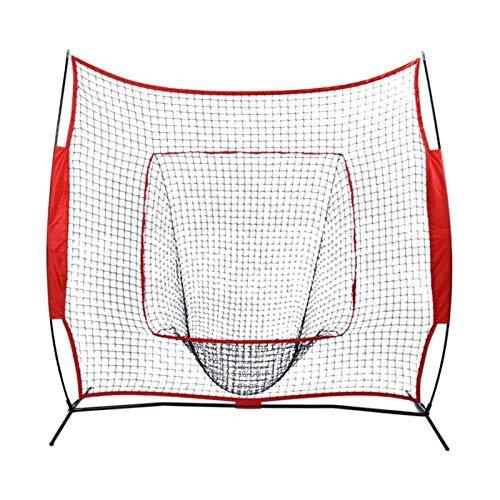 CuteLife Red de Práctica de Béisbol Práctica de béisbol Net Softball Práctica Net Softball Práctica Golpeando Bate Training Net para el Camping del Patio (Color, Size : 213x213cm)