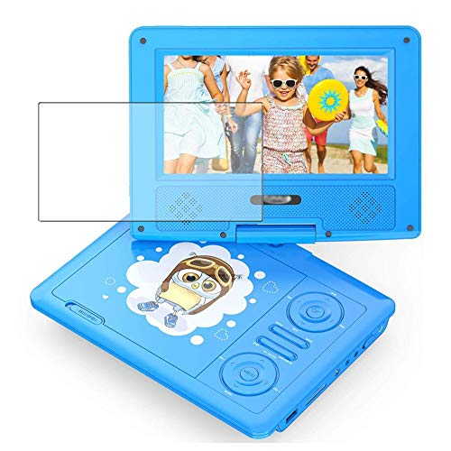 Vaxson 3 Stück Schutzfolie, kompatibel mit Funavo Portable DVD Player 7.5