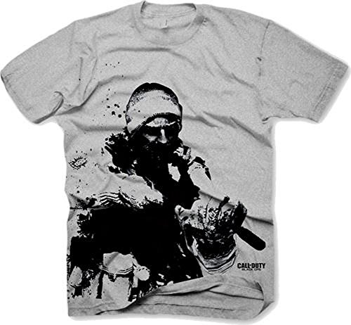 Gaya Entertainment Call of Duty II Black Ops Snow Soldier MW2 - Camiseta (talla XL)