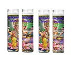 Gifts by Lulee, LLC Ganesh God of The Intellect and The Remover of Obstacles Set of 4 Four Candles