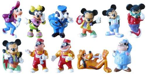 Kinder Überraschung Satz Micky und seine Freunde von Walt Disney. Komplettsätze - 11 Figuren aus dem Ü-Ei