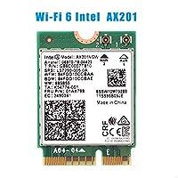 Wi-Fi 6 AX201 Bluetooth 5.0 2.4G/5G Wireless NGFF Wifi Card AX201NGW 802.11ac/ax 2.4Gbps Wlan Adapter