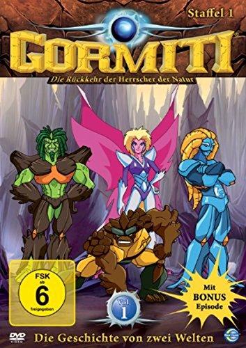 Gormiti - Staffel 1.1: Die Geschichte von zwei Welten