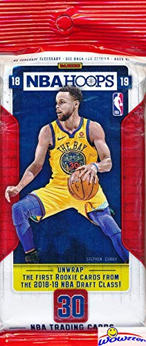 2018/19 Panini Hoops NBA Basketball HUGE Factory Sealed JUMBO FAT PACK with 30 Cards! Loaded with ROOKIES & INSERTS! Look for RC & Autos of Luka Doncic, Trae Young, Deandre Ayton & More! WOWZZER!