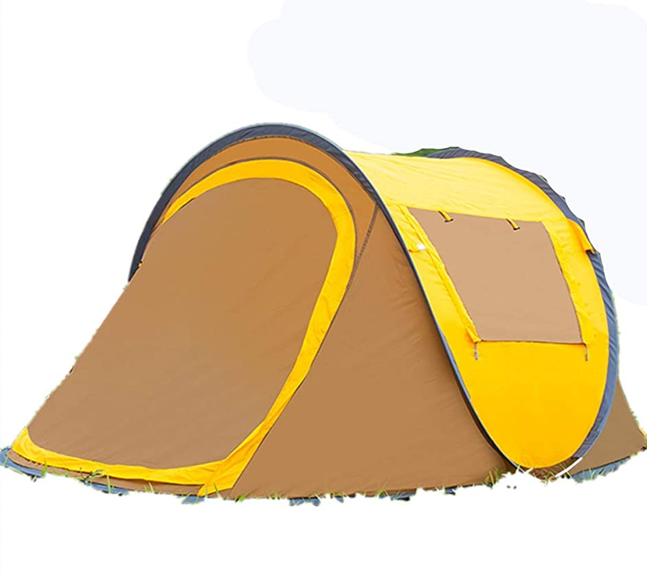 XIAZI Beach Tent Portable for 3-4 Person Automatic Instant Beach Tent Waterproof Anti-Uv Shade Camping Tent for Beach