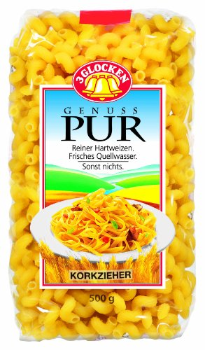 Genuss Pur Nudeln, 5er Pack (5 x 500 g)