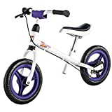 Kettler Laufrad Speedy Pablo 2.0 – das ideale Lauflernrad – Kinderlaufrad mit Reifengröße: 12,5 Zoll – stabiles & sicheres Laufrad ab 3 Jahren – weiß & lila