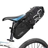 Docooler 10L サドルバッグ 自転車用 バイクリアシートバッグ 自転車保管袋 マウンテンロードバイク用 大容量 軽量 防水