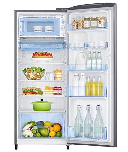 Samsung 230 L 3 Star Inverter Single Door Refrigerator (RR24A2Y2YS8/NL, Elegant Inox) 3