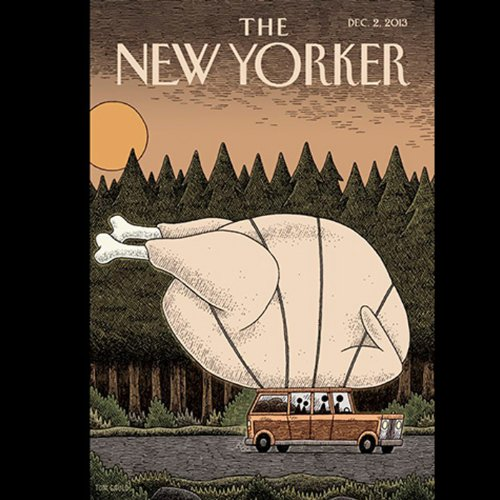 Couverture de The New Yorker, December 2nd 2013 (Rachel Aviv, Ian Johnson, Kelefa Sanneh)