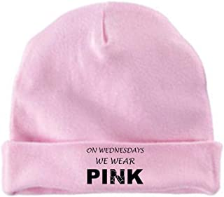 Pink On Wednesdays We Wear Pink Baby Hat Beanie
