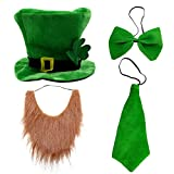 St.Patricks Green Head Piece will complete any leprechaun costume for adults and kids. This works well with a St Pattys shamrock suit, suspenders, shirt, vest and pants, or with a dress. This adult St Patricks costume will have all men and women at t...