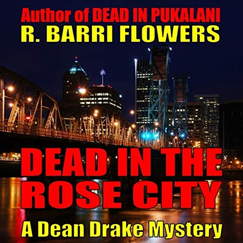 Dead in the Rose City audiobook cover art