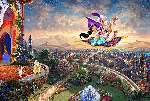Rompecabezas 1000 piezas de niños adultos Aladdin Studio diversión niños juguetes educativos regalos