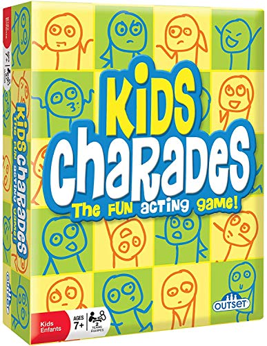 Kids Charades by Outset Media - An Imaginative and Fun Acting Classic Party Game for Young Children...