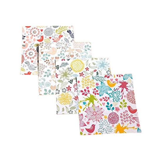 Erosion Lot de 16 Feuilles de Papier de Soie pour d/écoration Murale de Mariage Motif Fleurs Multicolore