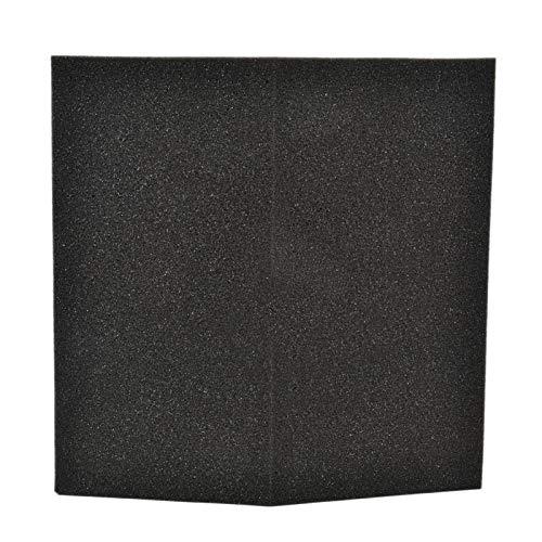 Aislamiento acústico Reducción de ruido Paneles de espuma acústica Acolchado a prueba de sonido Paneles de espuma Pegatinas de pared para murales de bricolaje para 11.81'X 11.81' X 2.95'Pulgadas