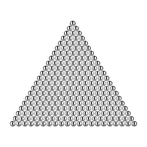 GrandEver 4.000 Pezzi da 4,5 mm. Munizioni in Acciaio al Carbonio, Acciaio Inossidabile