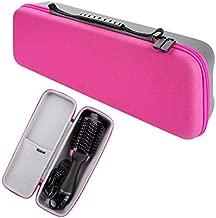 Hard Travel Case for Revlon Hair Dryer Brush, Hot Tools One-Step Hair Dryer and Volumizer Styler, Hot Air Brush Carrying Case Box (Rose Red)