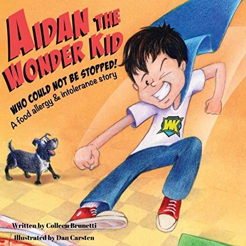Aidan the Wonder Kid audiobook cover art