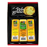WISCONSIN CHEESE COMPANY'S. Cheddar Cheese and Cracker Gift Box, 100% Wisconsin Cheddar Cheese and...