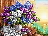 TTTTYYY Puzzle 500 Pezzi Adulti (Flores) Puzzles 500 Piezas Adultos Rompecabezas de Madera Personalizable con tu Propia Imagen