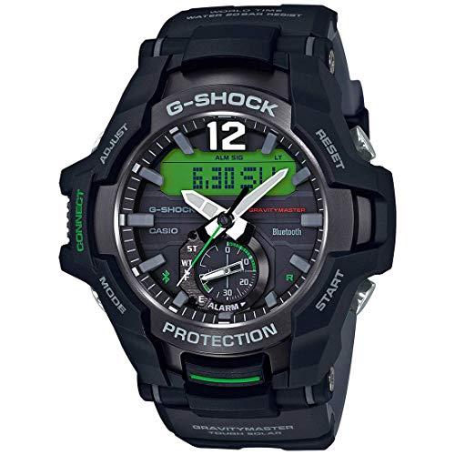 Casio G-Shock - Reloj de hombre con Bluetooth Gravitymaster Gr-B100-1A3 Neobrite Solar 200M