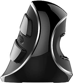 ワイヤレス マウス エルゴノミクス 無線 マウス 人間工学 縦型 マウス 光学式 3モードDPI 腱鞘炎防止 手首の痛みを軽減 着脱式リストレスト