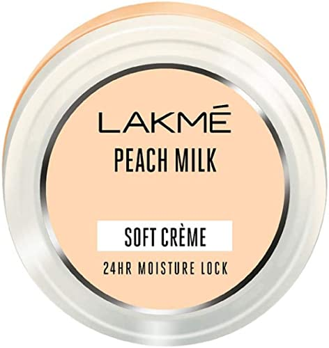 Lakmé Peach Milk Soft Creme, Light Weight With 24Hr Moisture Lock,150 g