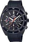 Casio Reloj Analógico para Hombre de Cuarzo japonés con Correa en Goma EFV-590PB-1AVUEF