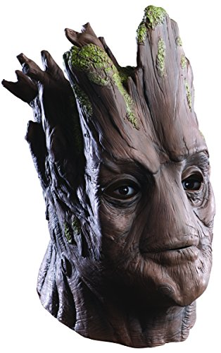 Rubie's Costume Men's Guardians Of The Galaxy Deluxe Adult Overhead Groot Mask