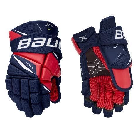 Bauer Vapor X2.9 Handschuh Senior, Größe:13 Zoll, Farbe:Navy/rot/weiß