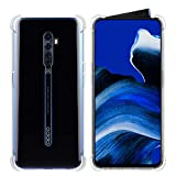 CRESEE Oppo Reno2 Case, Reno 2 Case, Slim Clear Cover with