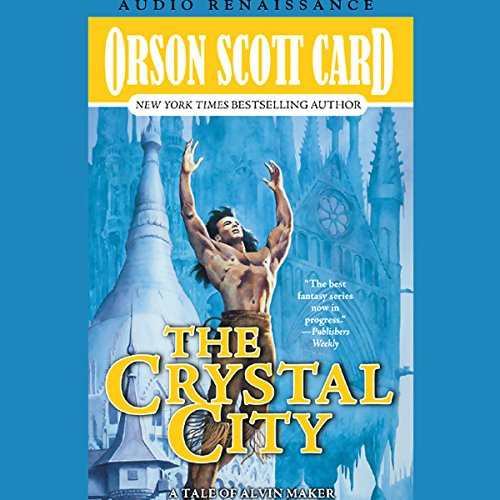 Crystal City     Alvin Maker VI              By:                                                                                                                                 Orson Scott Card                               Narrated by:                                                                                                                                 Stefan Rudnicki,                                                                                        M.E. Willis,                                                                                        cast                      Length: 11 hrs and 31 mins     923 ratings     Overall 4.2