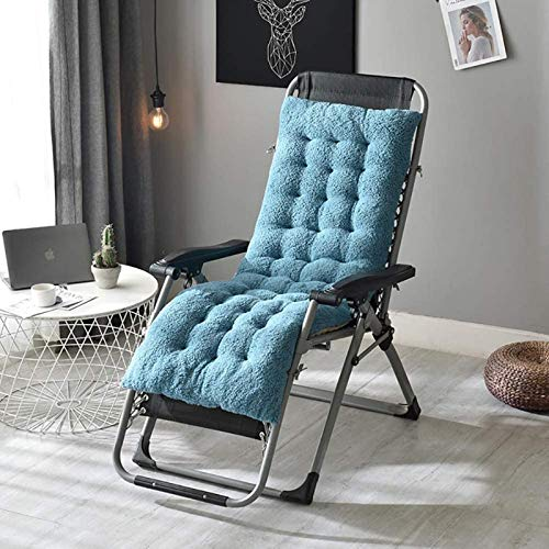 HZWLF Cojín para Tumbona, cojín Grueso para salón, Cojines para sillas de jardín para Patio, sillón reclinable, cojín para Relajarse