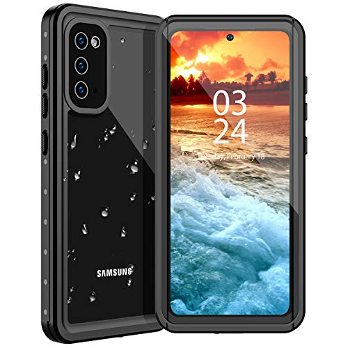 Nineasy Samsung Galaxy S20 Waterproof Case, S20 Case?2020 New? Full Body Protective with Built-in Screen Protector IP68 Underwater Cover Heavy Duty Dustproof Dropproof Case for Samsung S20 5G 6.2inch