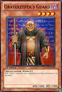 Yu-Gi-Oh! - Gravekeeper's Guard (SDMA-EN009) - Structure Deck: Marik - 1st Edition - Common