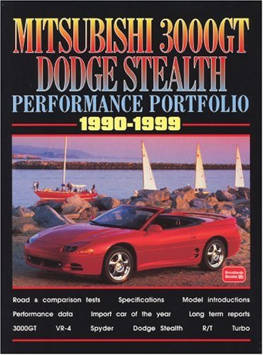 Mitsubishi 3000GT Dodge Stealth 1990-1999 -Performance Portfolio download ebooks PDF Books