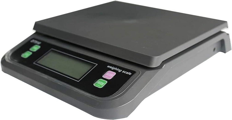 M3 Decorium 1g Balanzas de Cocina electrónica Paquetes Portales Paquetes Portales Paquetes PESTAMENTO Escala DE Peso Digital Sale DE Alimentos Cocina DE Comercio (Color : 20kg-1g|Black)