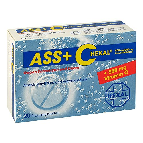 ASS + C HEXAL gegen Schmerzen u.Fieber Brausetabl. 20 St